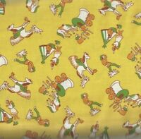 Storybook Ranch yellow western kids 30s reproduction Windham fabric