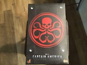 Hot Toys MMS 167 Red Skull Captain America First Avenger 1/6 Scale Figurine