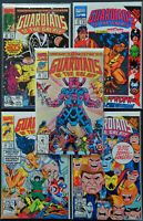 Lot of 5 Guardians of the Galaxy #25 26 27 28 29 ALL NM Marvel  1992