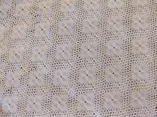 "Beautiful White Lace Floral Net Design Fabric 54"" Wide By The Yard"
