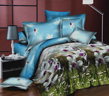 Brand New Super King Bed Quilt/Doona Cover 5 Pieces Set, Orchid