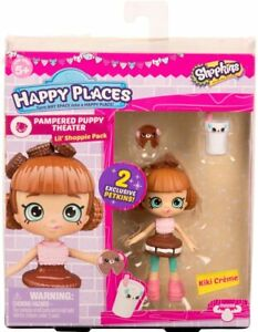 Shopkins Happy Places Pampered Puppy Theater  *Kiki Creme*  NEW