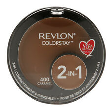 Revlon Colorstay Foundation Compact and Anti Dark Circles 2 in 1 400 Caramel