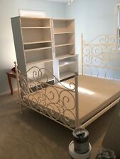 Bombay Co. Antique White Full Size Metal Bed