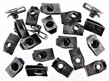 """Plymouth U-nut Clips- 1/4-20 Thread- 17/32"""" Center To Edge- 20 clips- #192"""