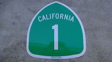 PACIFIC COAST HIGHWAY California Highway HWY 1 Road Sign PCH  24 X 24
