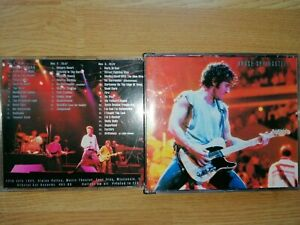 BOX CD BRUCE SPRINGSTEEN ALPINE VALLEY NIGHT USA LIVE 1984 (missing one CD 2/3)