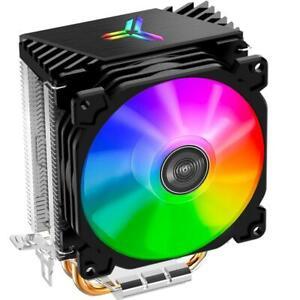 CPU Kühler Kühlkörper RGB LED Lüfter für LGA 775/1155/1151/1150/1366 Alle AMD