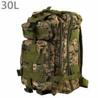 NEW 30L Outdoor Military Tactical Backpack Waterproof  Shoulders Pack  WF