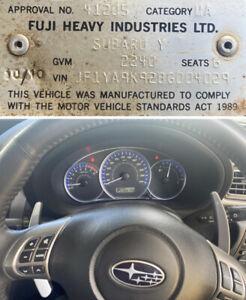 Subaru Liberty Exiga