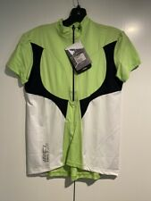 Women's De Marchi Bicycle Jersey (XLarge) Neon White