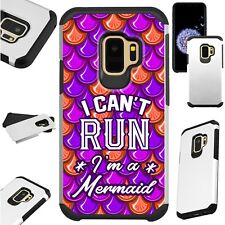 FusionGuard Case For Samsung Galaxy S9 S8 Note8 Phone Case I CANT RUN IM MERMAID