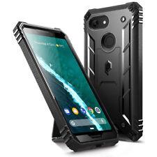 "Poetic Revolution ""360 Degree Protection"" Rugged Case For Google Pixel 3 Black"