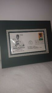 FIRST DAY STAMP COVER Matted JACKIE ROBINSON AUG 2 1982 FIRST DAY OF ISSUE MINT