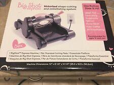 New listing New In Box Sizzix Big Shot Express Electric Die Cutting Machine Black & Pink