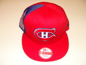Montreal Canadiens Cap Hat Snapback Hockey Panel Pride New Era Stanley Cup Years