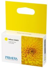 2-Pak Primera =BRAVO 4100-SERIES= YELLOW Ink Cartridges, Primera 53603 X 2