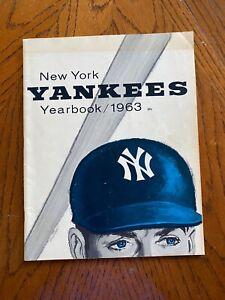 1963 New York Yankees Yearbook
