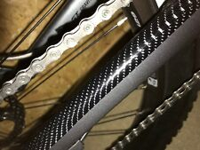 Carbon Effect Downhill Mtb Frame Chainstay Patch Rubbing Protection Set