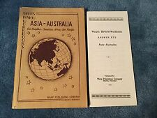 WARP's Review Workbook and answer key Asia- Australia 1961-62
