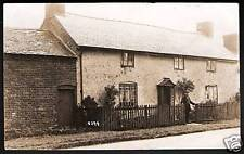 Oswestry posted card of Houses & Barn.