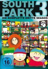 3 DVDs * SOUTH PARK - DIE KOMPLETTE 3. STAFFEL # NEU OVP +