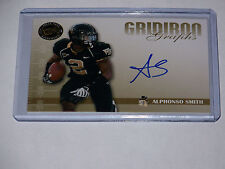 2009 press pass auto grid iron graphs #gg-as alphonso smith