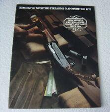 REMINGTON FIREARMS 1979 GUN CATALOG