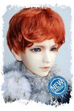 "7-8"" Carrot Synthetic Mohair 1/4 BJD Doll SD Short Wig"
