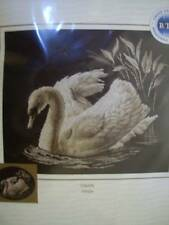 Swan Cross Stitch Kit 15.75x13.75 Inches RTO
