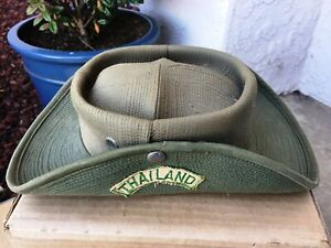 USAF Vietnam Era Vdorn Thailand Boonie Hat Bush Jungle