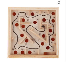 Children Educational Toys Wooden Puzzle Toys Brain Teaser Puzzle Toy LCA