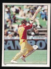 1984 Scanlens Cricket Sticker unused number 164 Peter Sleep