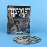 Hanna Blu-Ray DVD Combo Pack - Steelbook - GUARANTEED