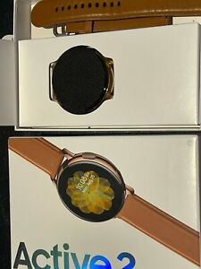 Samsung Galaxy Watch Active 2 GSM LTE  44mm Stainless Steel Gold Plated