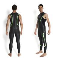 Speedo Mens Triathlon Tri Comp Wetsuit Full Swimsuit Swimming Swim Suit NEW