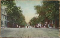 Williamsport, MD 1910 Postcard: Potomac Street - Maryland