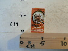 STICKER,DECAL LES INDIENS UN OBJET DE COLLECTION A LÍNTERIEUR INDIAAN INDIAN