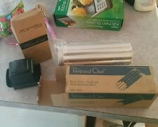 JOBLOT 2 X PAMPERED CHEF RARE BREAD TUBE AND FOOD HOLDER GRATER GRIP NEW BOXED
