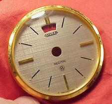 Vintage MODEL 101 JAEGER TUSCAN ALARM CLOCK RECITAL 8 DIAL BEZEL PART REPAIRS