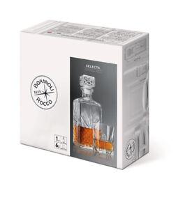 Bormioli Whiskyset Selecta Karaffe + 6 Gläser Whisky Whiskey Glas Whiskygläser