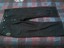 COOGI MENS BLACK JEANS 40X27 ALTERED FROM 40X35 GRAPHICS