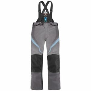 Icon Raiden DKR Ladies Textile Waterproof Motorcycle Trousers - Charcoal