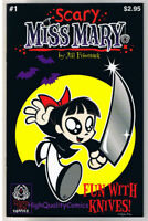 SCARY MISS MARY #1, NM, Jill Friemark, Fun w/ Knives, 2001, more indies in store