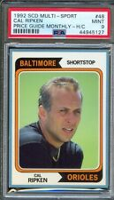 1992 SCD Multi-Sport Insert #48 CAL RIPKEN JR Baltimore Orioles PSA 9 MINT Pop 1