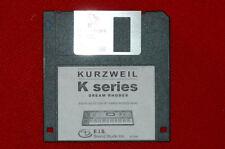 Disquette PIANO RHODES programmes correctifs pour Kurzweil k2000 k2661 k2500 k2600 pc3k