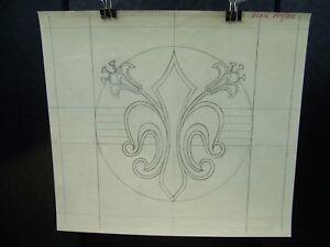 """""""Maria Virgina"""" 1946-59 Original Pencil Sketch By C. Kelm"""