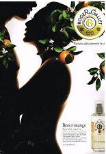 Publicité Advertising 2010 Eau de Toilette Roger & gallet