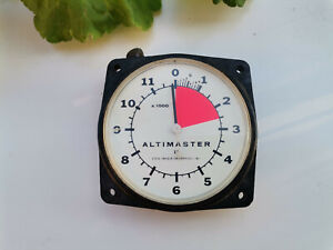 Vintage Altimaster II Altimeter Skydiving - Steve Snyder Enterprises
