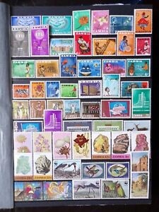 COLLECTION OF ZAMBIA STAMPS